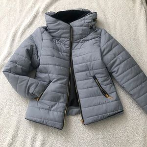 Puffer coat from PrettyLittleThing.